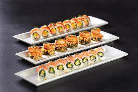 Sushi & Appetizer Platters for $10.99./ $2 Drafts