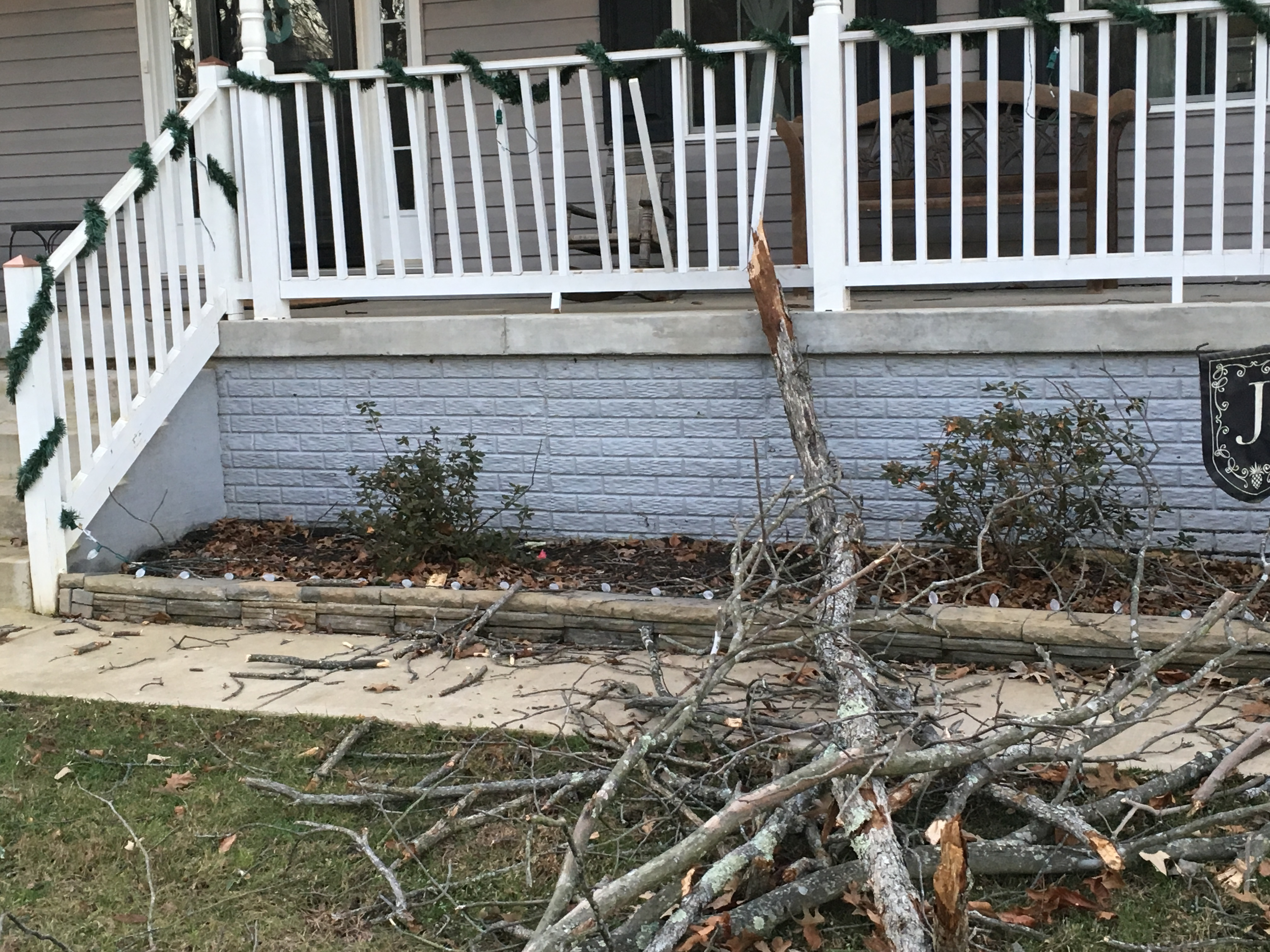 I wish I had done this before the tree fell on my home.  I prefer planned home improvement! by Genesis Home Improvement in Bealeton VA