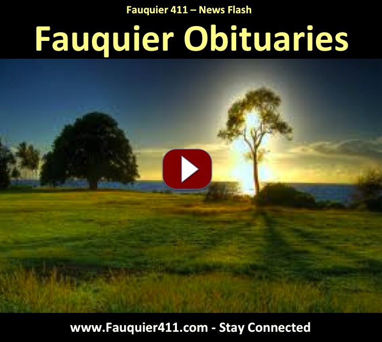 Fauquier County Obituaries by Fauquier News Flash in Warrenton