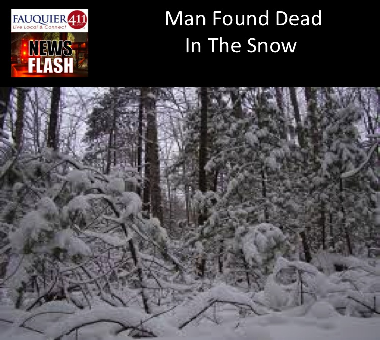 Man Found Dead In The Snow by Fauquier News Flash in Warrenton