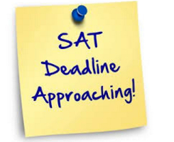 Don't Miss The SAT Deadliine Dates! by  in